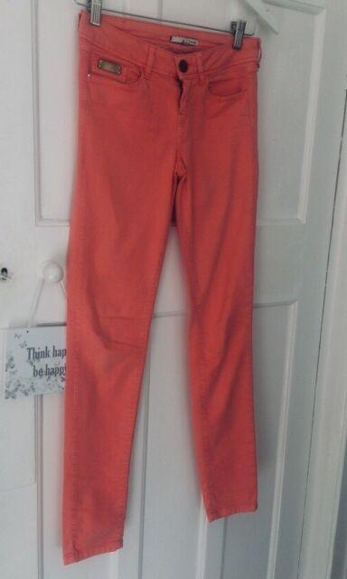 River Island Ladies Jeans Size 6 Stretch skinny pink