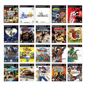 Los-mejores-Sony-PlayStation-2-ps2-juegos-con-embalaje-original-usado