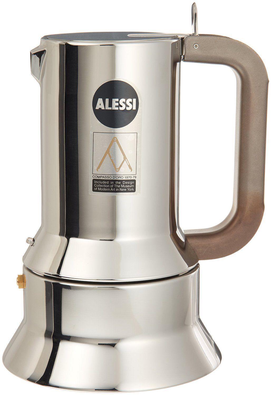 Alessi Cafetière 9090 3 R. SAPEUR 3 tasses-Free 2 tasses de café