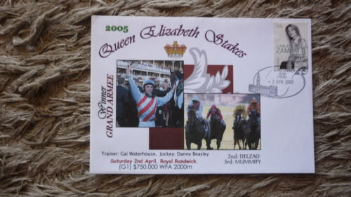 AUSTRALIAN HORSE RACING COVER, 2005 QUEEN ELIZABETH STAKES, WINNER GRAND ARMEE