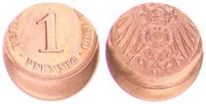 Imperio 1 Peniques 1900A J. 10 30% Dezentriert EBC (45717)