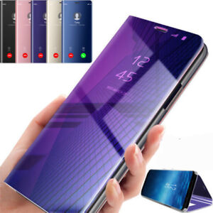 Flip-Mirror-Cover-Smart-View-Case-For-Samsung-Galaxy-J2-J5-J7-Prime