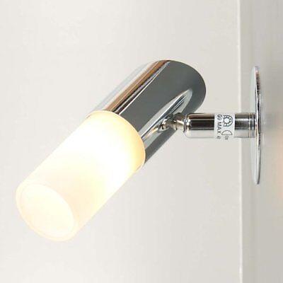 Briloner 2116-018 Lampada Splash Hvh Da Specchio 1 X 40w G9 Cromato E Vetro Ip21
