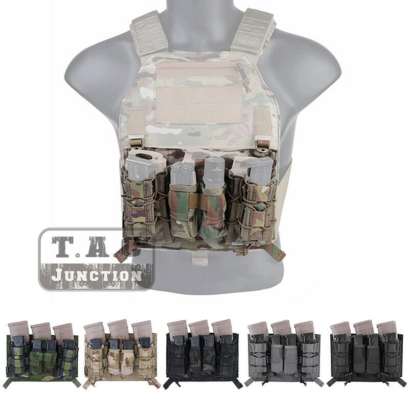 Emerson LBX-4020F Assaulter Panel with Mag Pouch For  4019   4020 Plate Carrier  hot