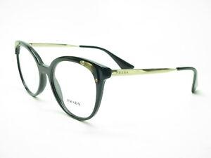 daf50487127 Details about New Authentic Prada VPR 12U 1AB-1O1 Black Eyeglasses 51mm  Rx-able PR 12UV 1AB1O1