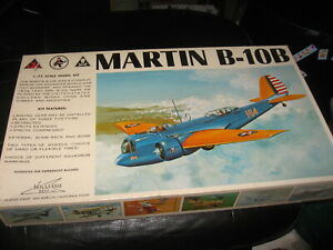 MIB-sealed-in-bag-Martin-B-10B-by-William-Brothers-in-1-72-scale