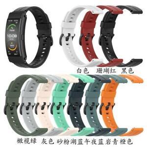 Universal Silicone 16mm Watch Band Strap for -Huawei TalkBand B3 B6 TIMEX Watch