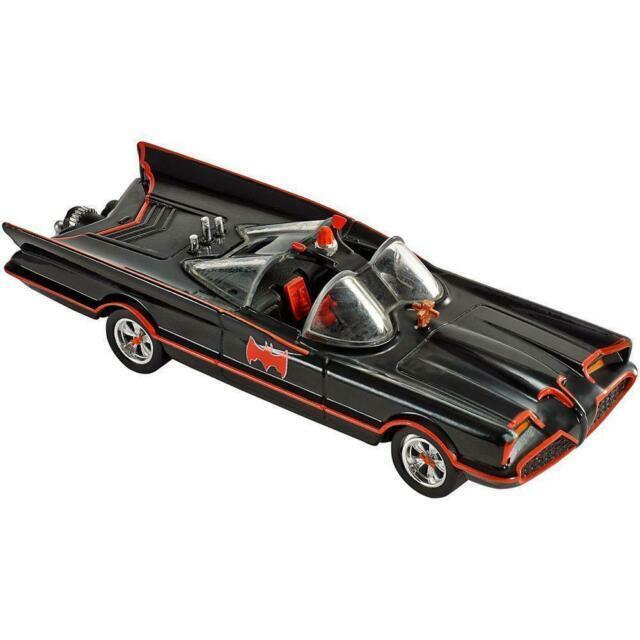 Hot Wheels Batman The Animated Series Batmobile DC 80 Years Batman Ages 8 /& Up