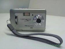 FG-01363 Digital Camera VistaQuest VQ700 7.0 Mega Pixels Silver