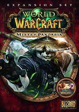 * PC NEW SEALED Game * WORLD OF WARCRAFT Mists of Pandaria Expansion * UK