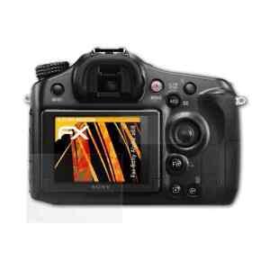atFoliX-3x-Beschermfolie-voor-Sony-Alpha-a68-Screen-Protector-mat-amp-schokbestendig