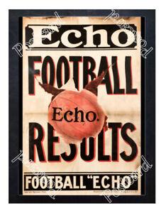 Historic-London-Football-Echo-news-1900s-Advertising-Postcard