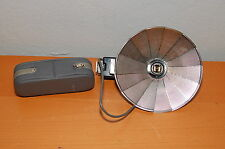 CANON VINTAGE FAN FLASH AG Made in Japan w/ Case
