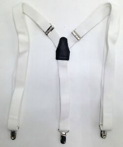$69 CLUB ROOM Men/'s BEIGE KHAKI BROWN STRETCH ELASTIC BRACES CLIP END SUSPENDERS