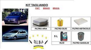 KIT-TAGLIANDO-FILTRI-OLIO-TOTAL-5W40-SINTETICO-FIAT-BRAVO-A-100-TD-74KW