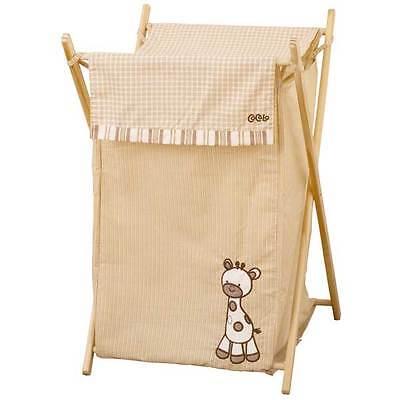 Snickerdoodle Jungle Animals Baby Giraffe Nursery Laundry Hamper By Cocalo