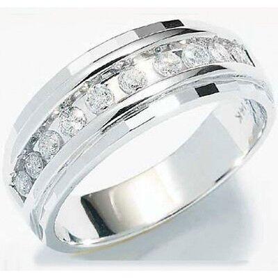 Size 10 1 4ct Mens Wedding Anniversary Diamonds Ring Band