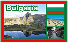 BULGARIA - SOUVENIR NOVELTY FRIDGE MAGNET - BRAND NEW - GIFT / XMAS