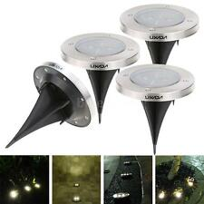 LIXADA 4pcs LED Solar Lawn Lamp Garden Decoration Light with Light Sensor C9NU