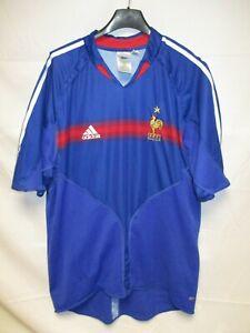 2004 Adidas Camiseta De Détails Vintage Xl Maillot Shirt Sur France Euro Equipe Football lcK1FJ
