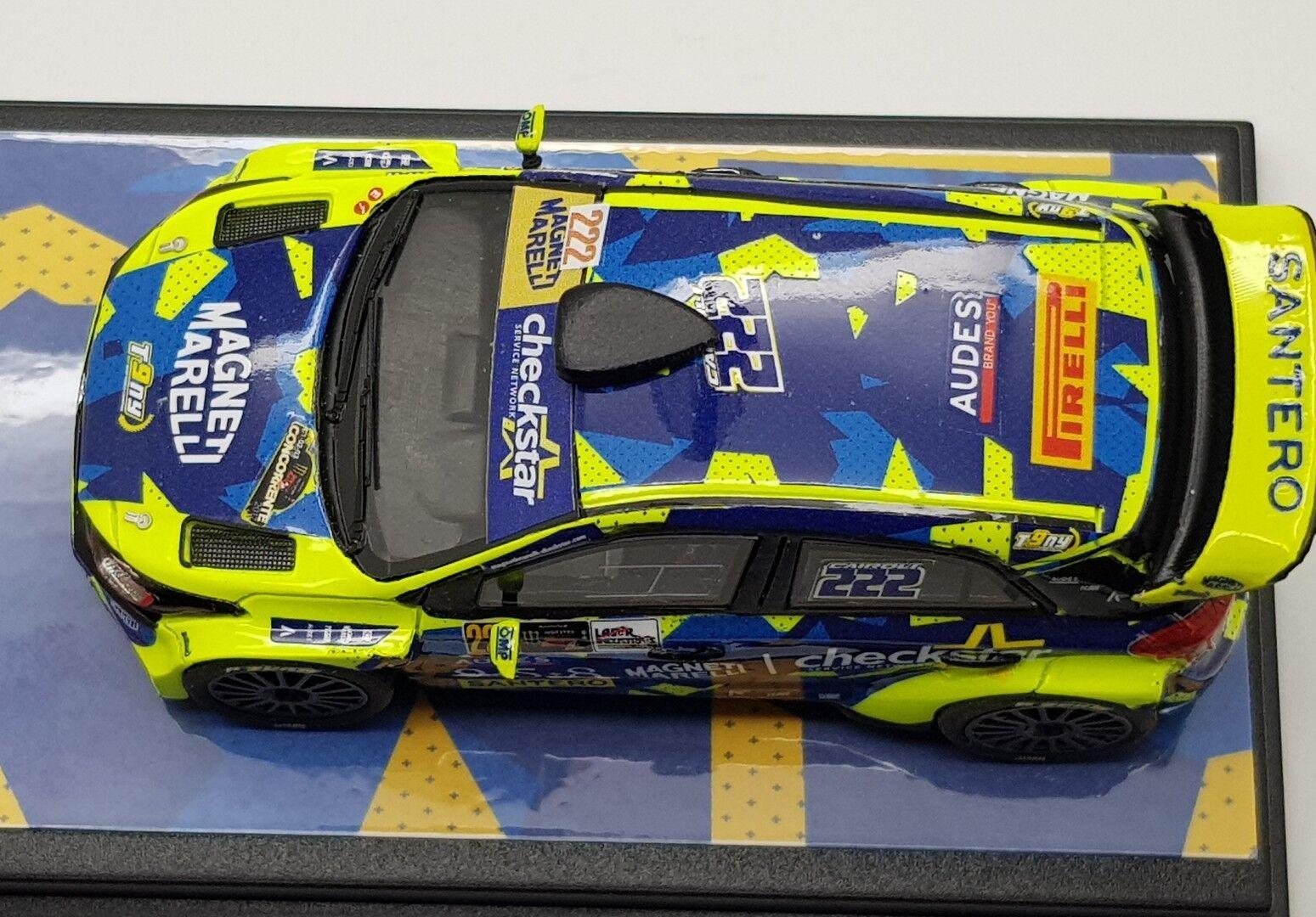 1 43 Hyundai Hyundai Hyundai WRC CAIROLI - FAPPANI  Rally Monza 2017 c530d8
