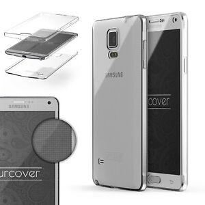 Samsung-Galaxy-Note-4-Case-En-TPU-360-Degre-Housse-etui-De-Protection-Cover-Case-Touch