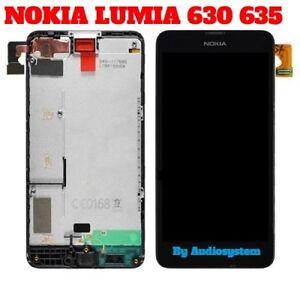 DISPLAY-LCD-TOUCH-SCREEN-FRAME-per-NOKIA-LUMIA-630-635-COVER-RICAMBIO-VETRO