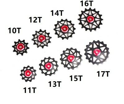 Rear Derailleurs Jockey Wheel 10//12//13//14//16//17T For Sram Shimano MTB Road Bike
