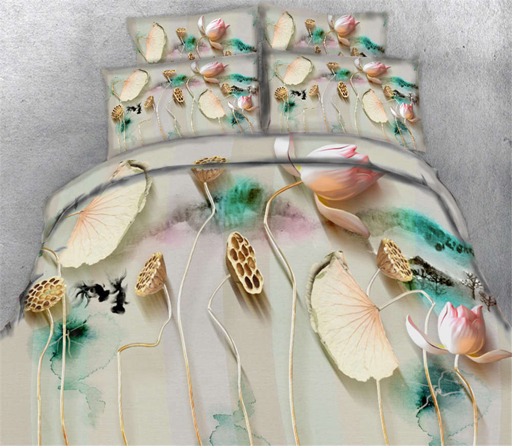 Twinkling Shells 3D Printing Duvet Quilt Doona Covers Pillow Case Bedding Sets