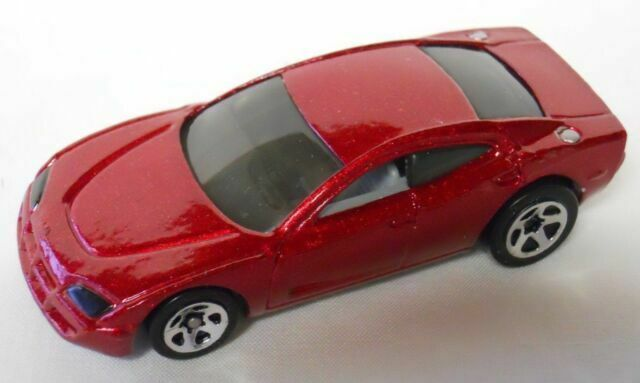 Hot Wheels LOOSE VINTAGE DODGE CHARGER R//T RED