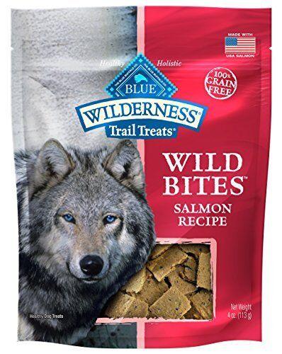 blu Wilderness Grain-Free Wild Bites Salmon Treats 4 oz (8 pk)