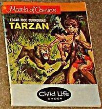 MARCH OF COMICS 366 TARZAN RARE GIVEAWAY PROMO VG- 1972 MINI PROMOTION