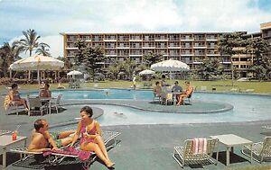Details About Hawaii Postcard Maui Kaanapali Beach Hotel Swimming Pool Island Holidays Resort