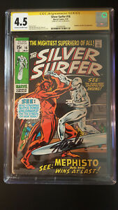Silver Surfer #16 CGC 4.5 SS Stan Lee May 1970  Mephisto Nick Fury