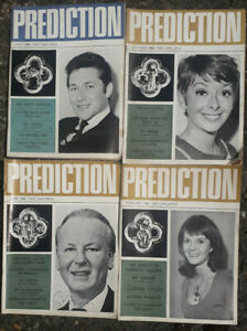 Four 1968 Prediction, The Magazine for Occult and Astrology