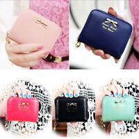 New Fashion Women Leather Small Wallet Card Holder Coin Purse Bag Clutch Handbag