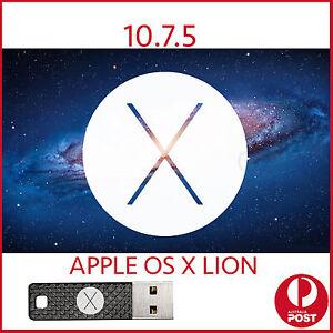 Details about lion 10 7 5 OSX MAC Installer Bootable USB OS X macbook Pro  Air iMac mini repair