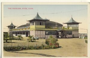 Y-368-ISLE-OF-WIGHT-POSTCARD-OF-THE-PAVILION-RYDE