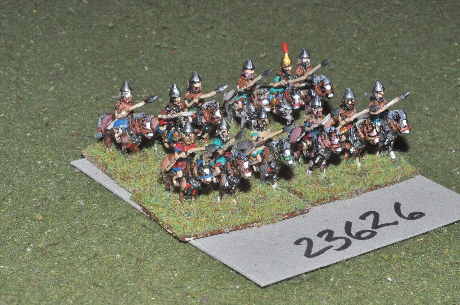 15mm biblical   assyrian - lancers 12 figures - cav (23626)