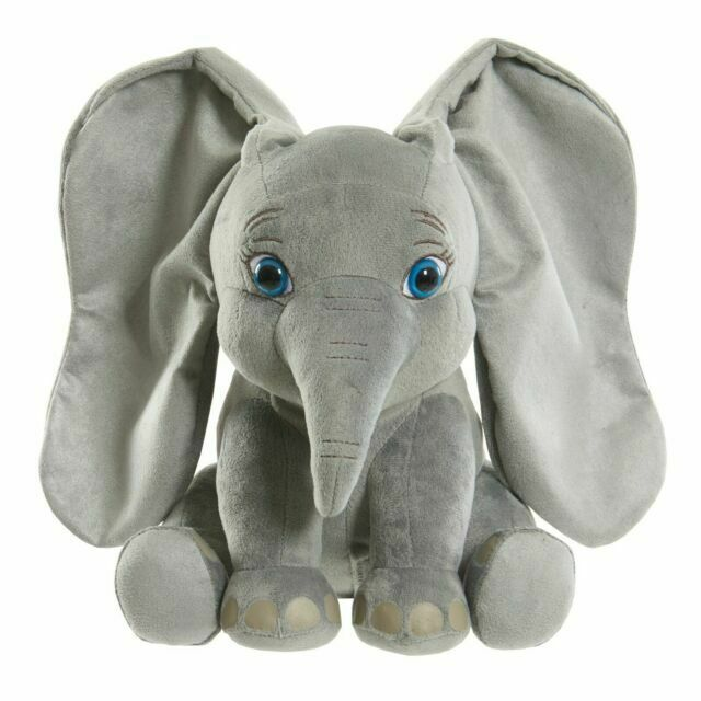 Disney Dumbo Live Action Flapping Ear Feature Plush Kid Toy Gift