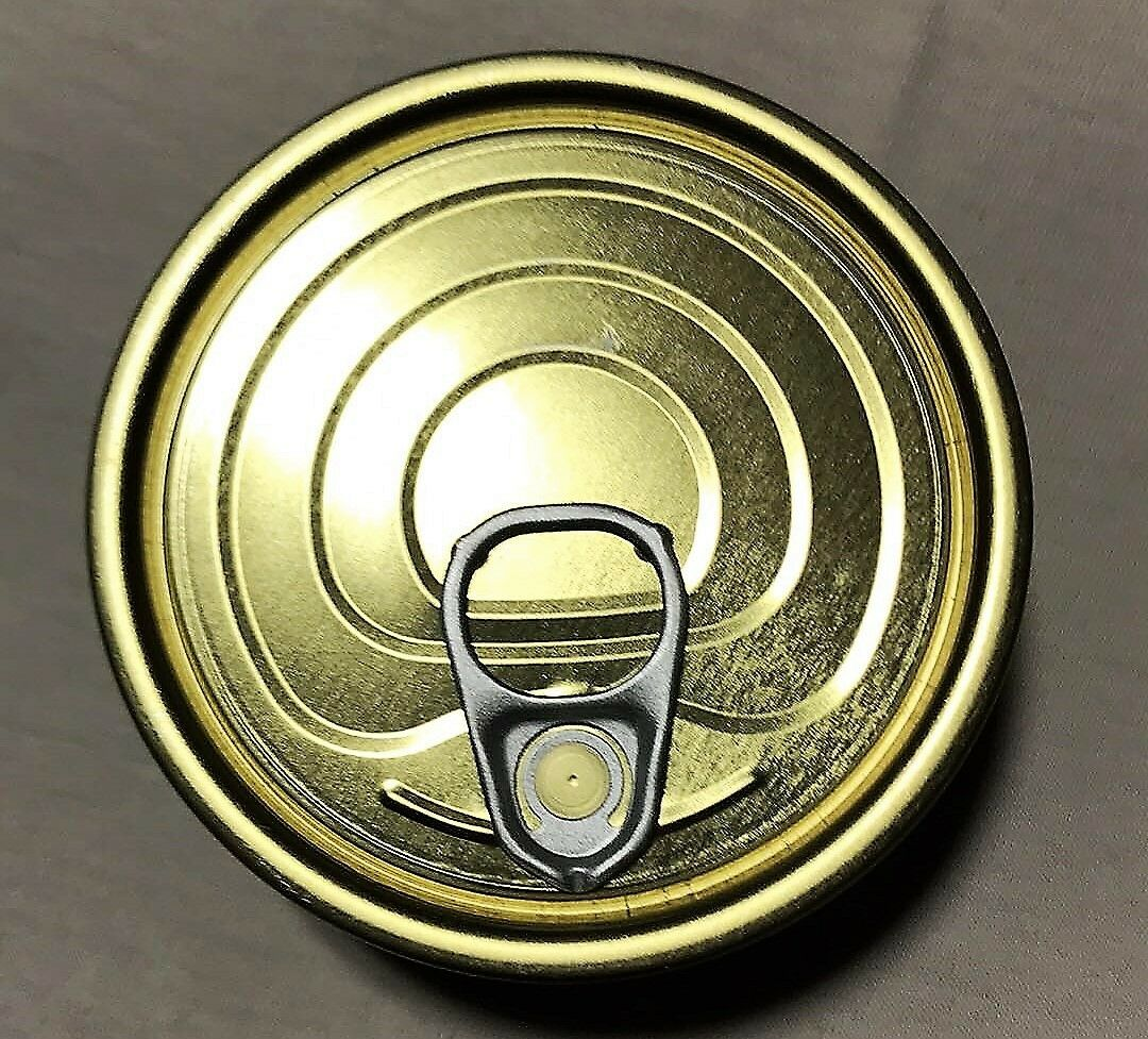 100 cans 73mm x 28mm Can with Ring-pull Lid.
