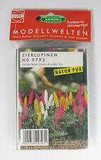 HO BUSCH 9793 8 ORNAMENTAL LUPINS BNIB OO FLOWERS KIT MODEL RAILWAY SCENERY