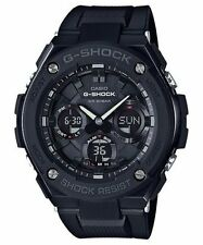 Casio Men G-Shock Stainless Steel Touch Solar Ana/Digital Blk Watch GSTS100G-1B