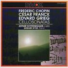 Cello Sonatas 7619913252043 by Chopin CD