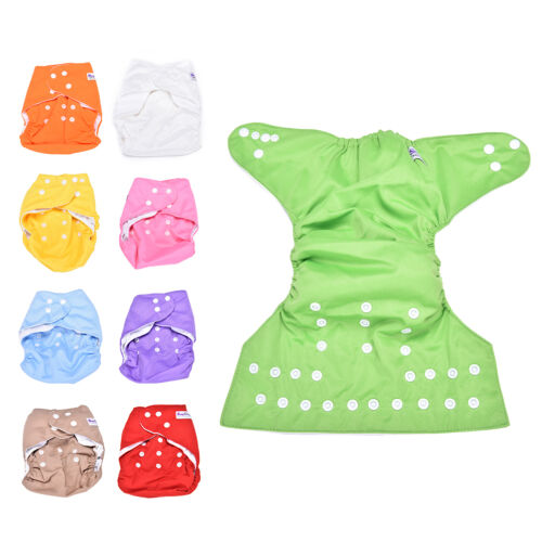 1x Sweet  Reusable Baby Washable Cloth Diaper 1INSERT pick color  EV