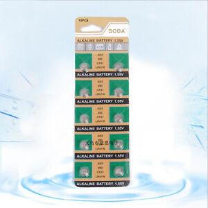 LR41-Coin-Cell-Button-battery-AG3-392A-SR41W-384-SR41SW-1-55V-x-20-pcs-Alkaline