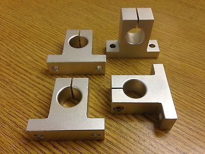 x4pcs SK16 Shaft Support ID16mm Samic CNC XYZ