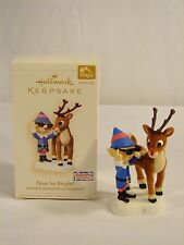 2006 Hallmark Magic Ornament Nose So Bright! Rudolph the Red-Nosed Reindeer