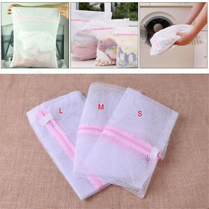 Laundry Washing Bra Clothes Socks Lingerie Underwear Zipped Wash Bags Mesh Net