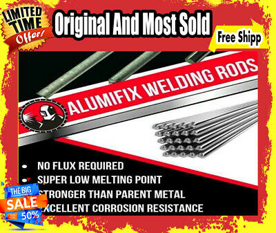 Buy 5 Get 1 FREE Solution Welding Flux-Cored Rods 10Pcs Free Shipping